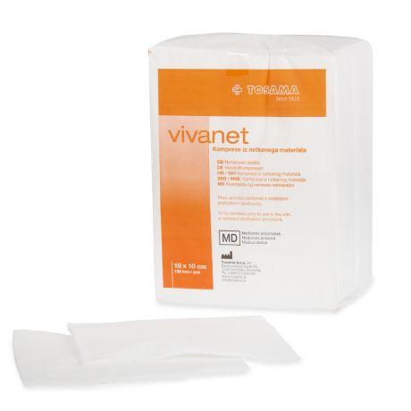 VIVANET 10cm x 10cm; sterile